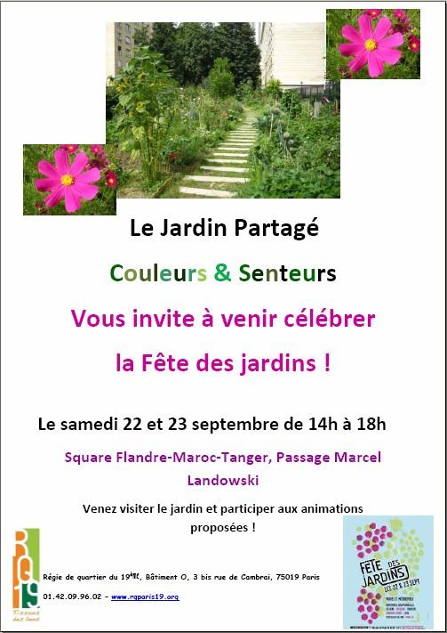 F te des jardins couleurs et senteurs jardinons ensemble for Au jardin des couleurs